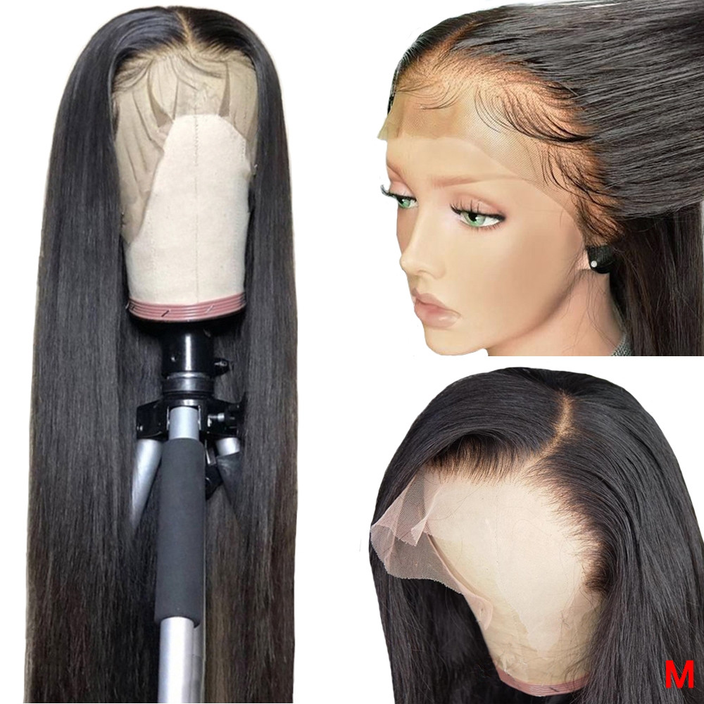 Baby Hair Hairline  360 Lace Frontal Wig PrePlucked With Baby Hair Hairline