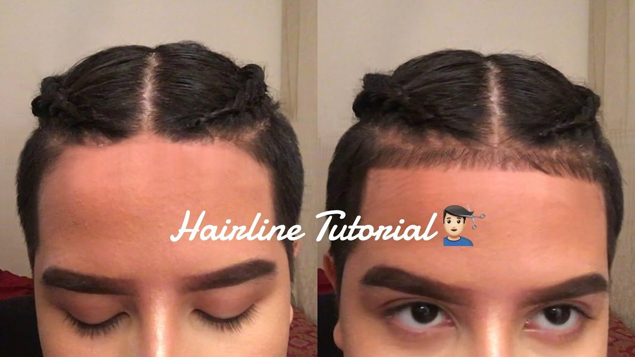 Baby Hair Hairline  HOW TO HAIRLINE BABY HAIRS TUTORIAL