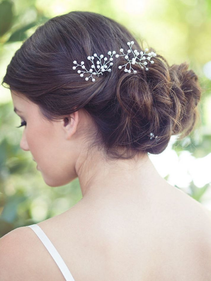 Baby Hair Pieces  Bridal Hair Accessories We Love crazyforus