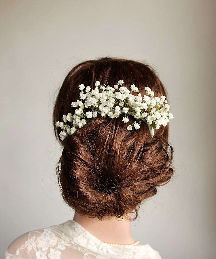 Baby Hair Pieces  Baby s Breath Boutonniere