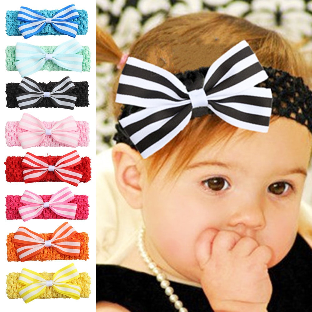 Baby Hair Pieces  New style Stripes Hair accessories Baby Hair band 1 piece