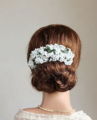 Baby Hair Pieces  Amazon Baby s Breath Hair Vine Back Bridal Hair