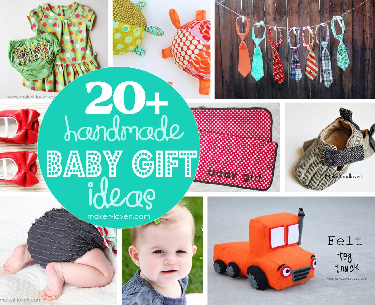 Baby Photo Gift Ideas  20 Handmade Craft Ideas for Baby Gifts