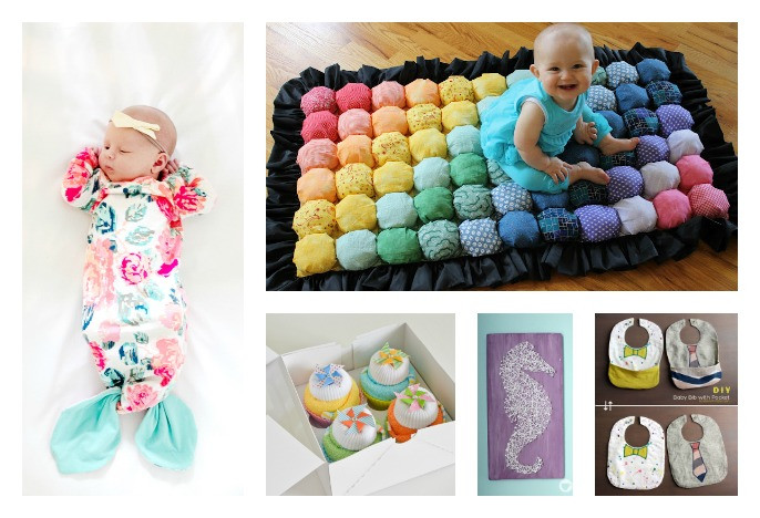 Baby Photo Gift Ideas  28 DIY Baby Shower Gift Ideas and Tutorials