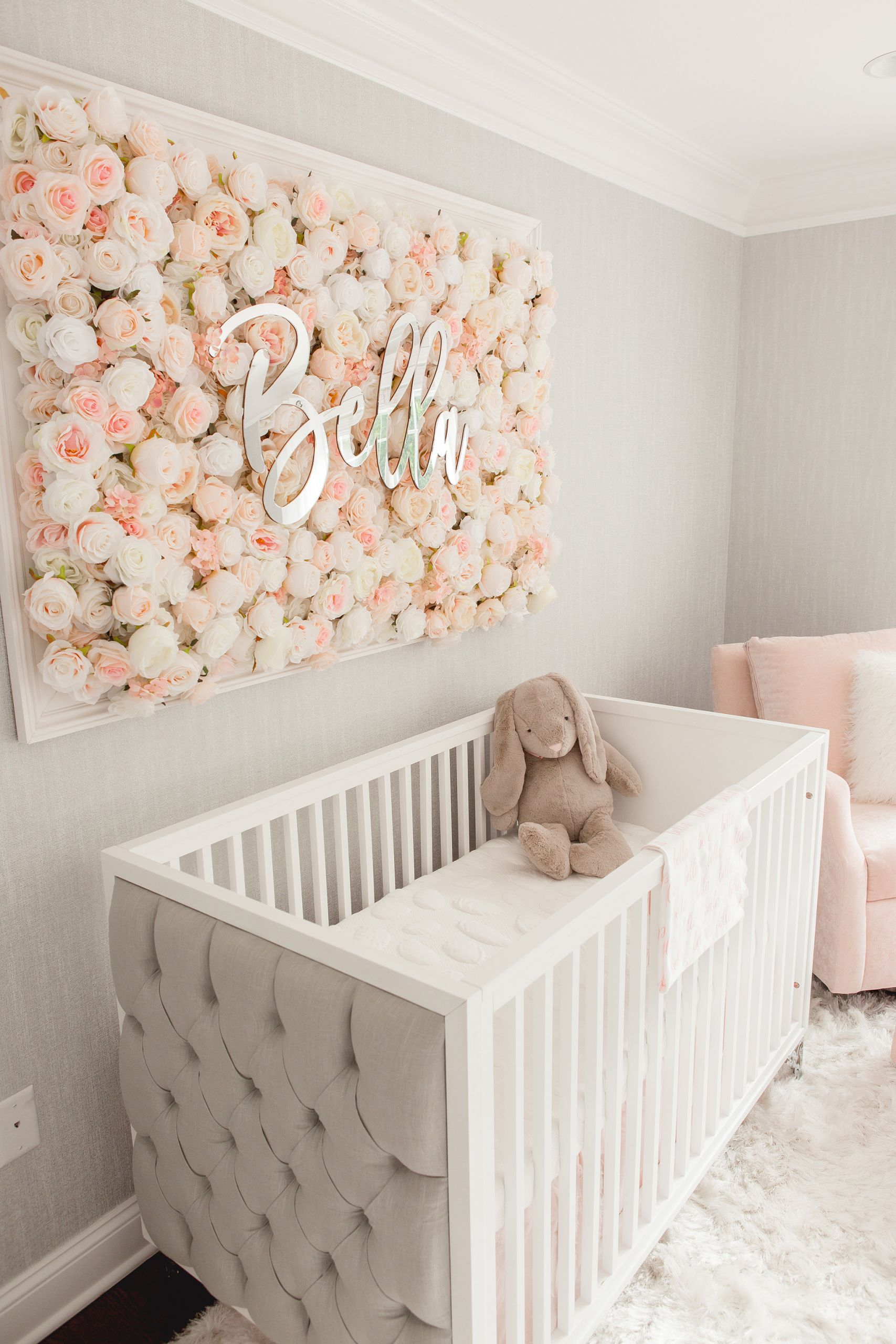 Baby Room Wall Decorating Ideas  Guess Which Celebrity Nursery Inspired this Gorgeous Space