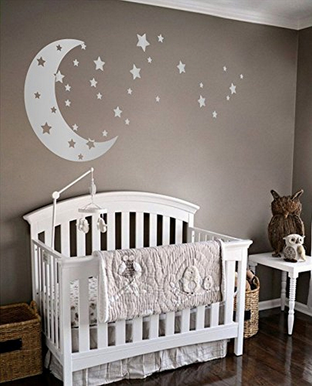 Baby Room Wall Decorating Ideas  Moonee Pond Gable House A New Modern House with A Walled