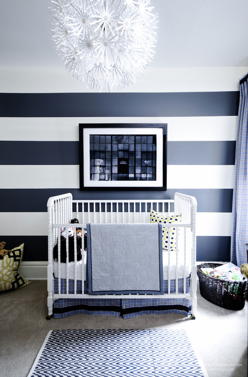Baby Room Wall Decorating Ideas  7 Baby Boy Room Ideas That Are Playfully Sophisticated
