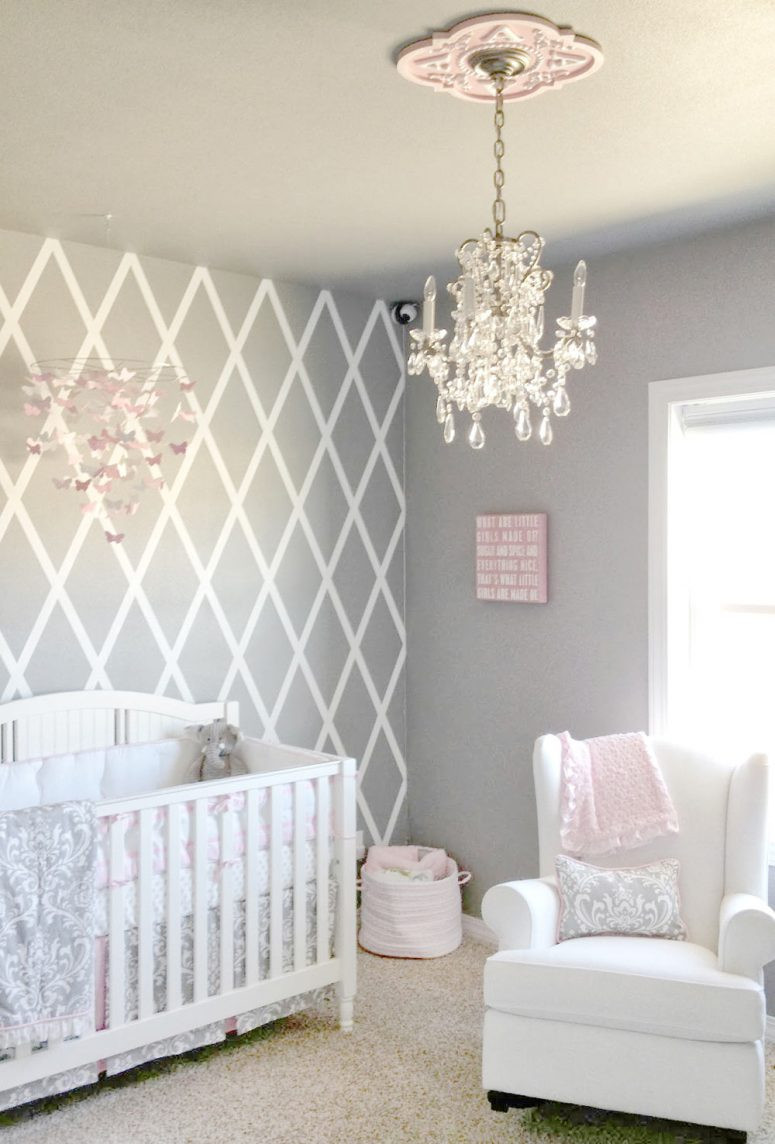 Baby Room Wall Decorating Ideas  33 Most Adorable Nursery Ideas for Your Baby Girl