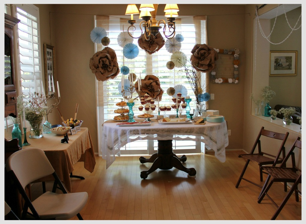 Baby Shower Decoration Ideas At Home  Cute And Inexpensive Baby Shower Decoration Ideas