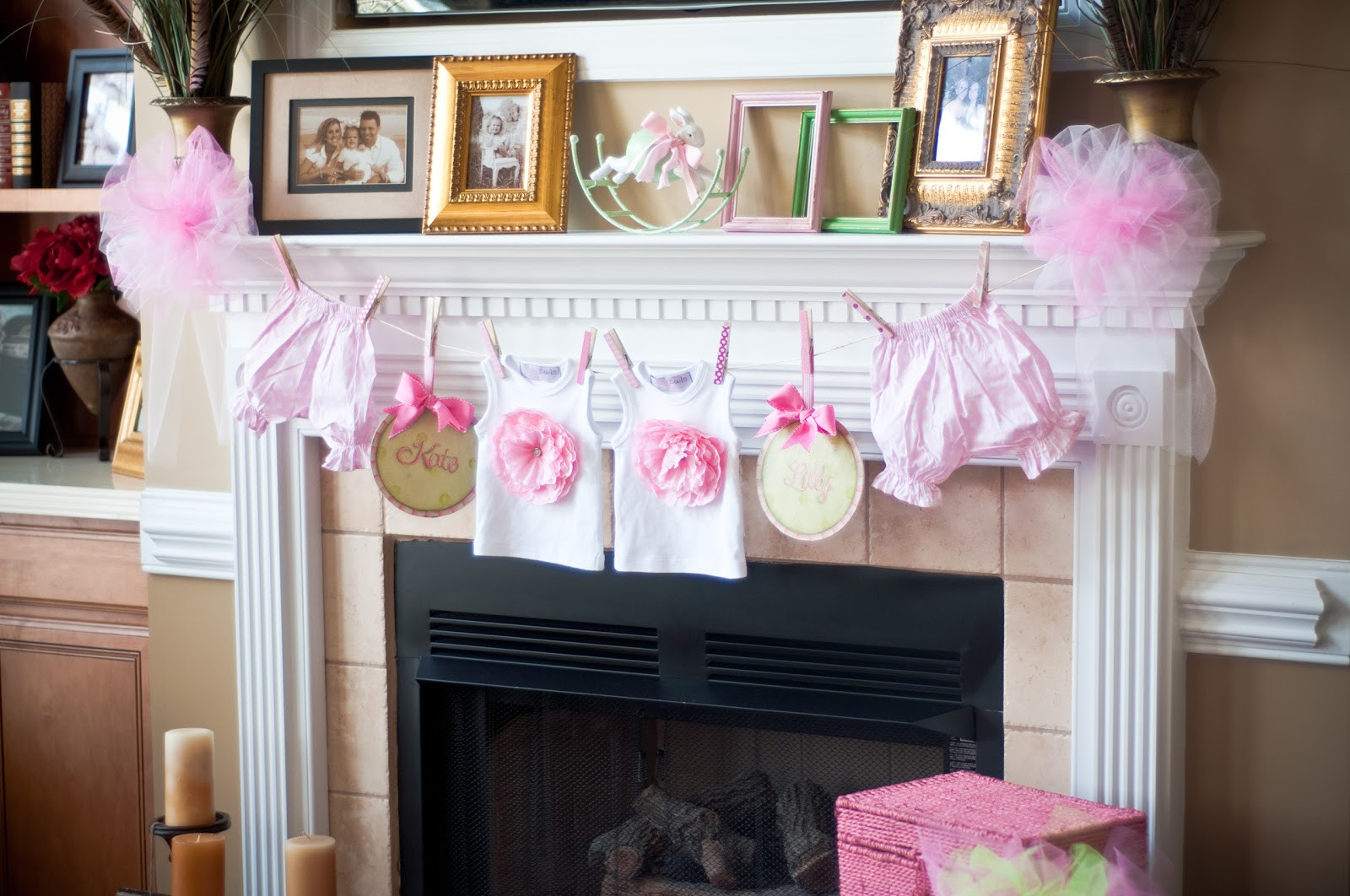 Baby Shower Decoration Ideas At Home  paws & re thread baby shower decorating ideas clothes