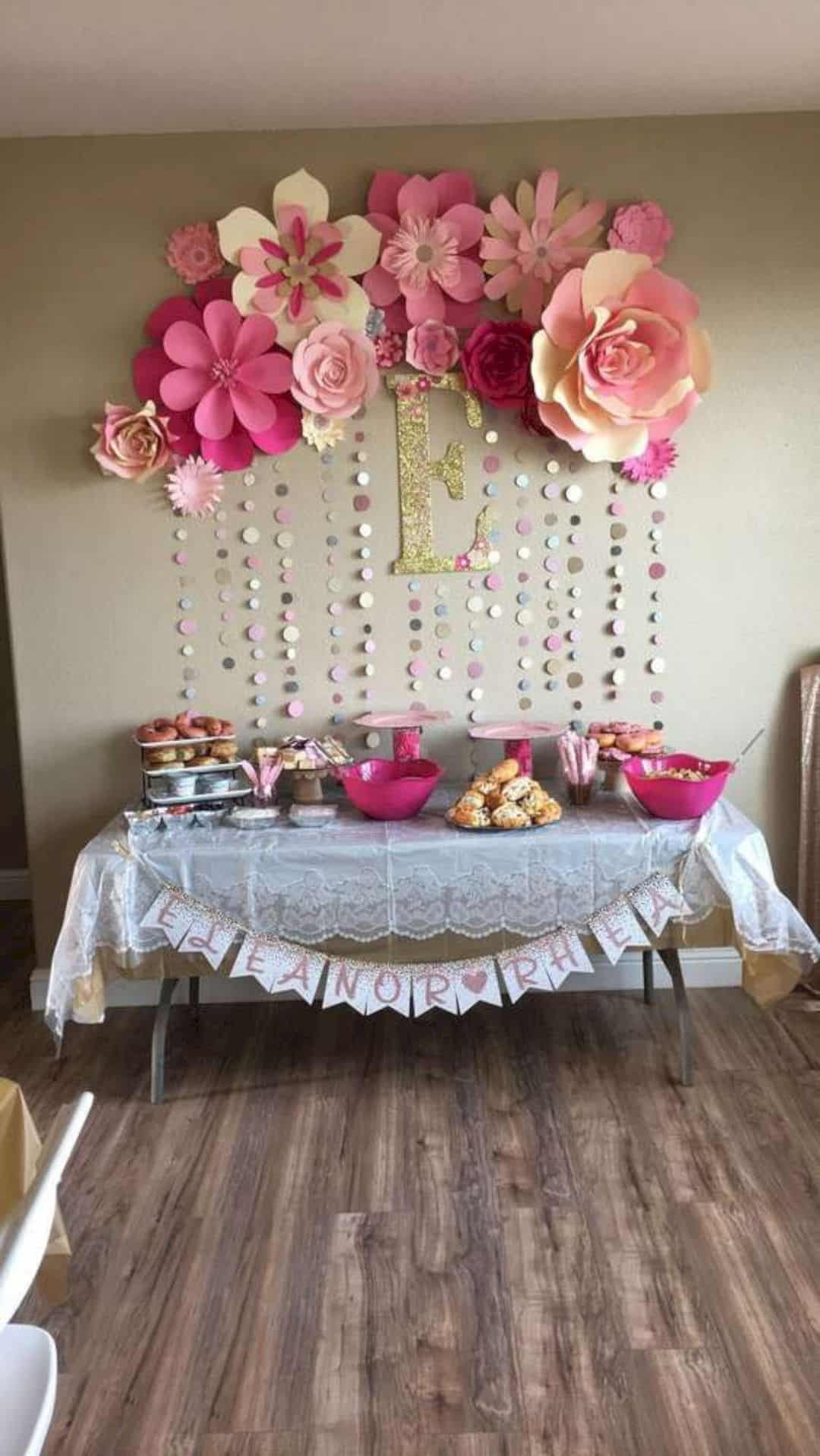 Baby Shower Decoration Ideas For A Girl  16 Cute Baby Shower Decorating Ideas