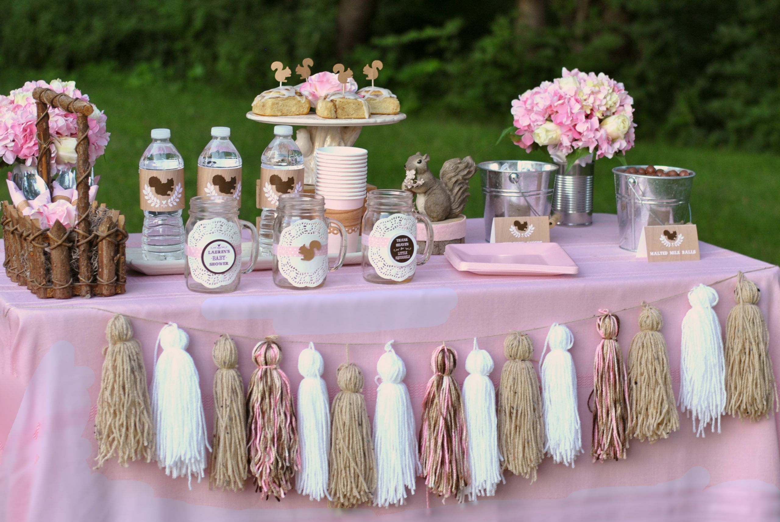 Baby Shower Decoration Ideas For A Girl  Baby Shower Themes for Girls Inspirations They Don t Have