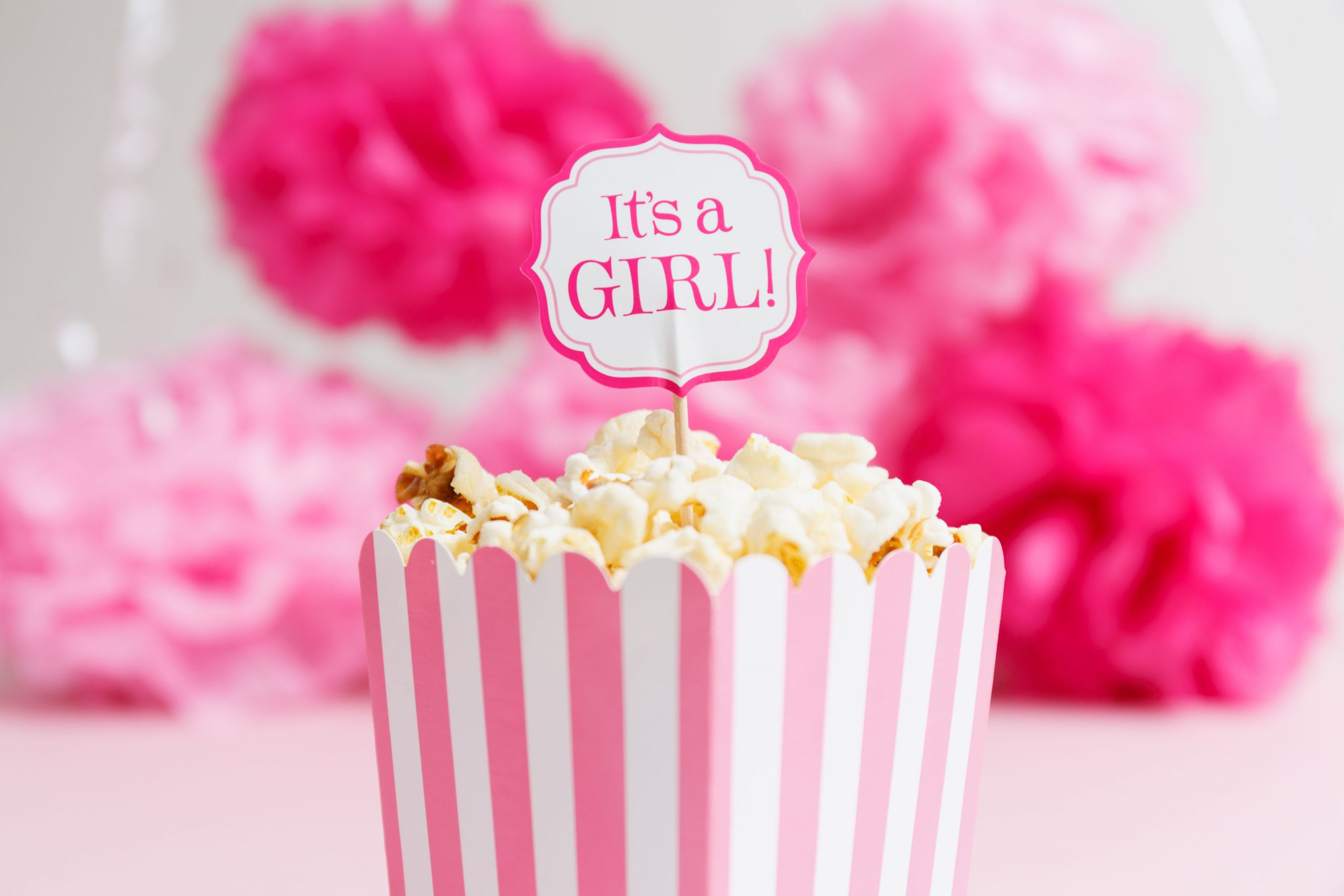 Baby Shower Decoration Ideas For A Girl  20 Baby Shower Decorations You Can Print for Free