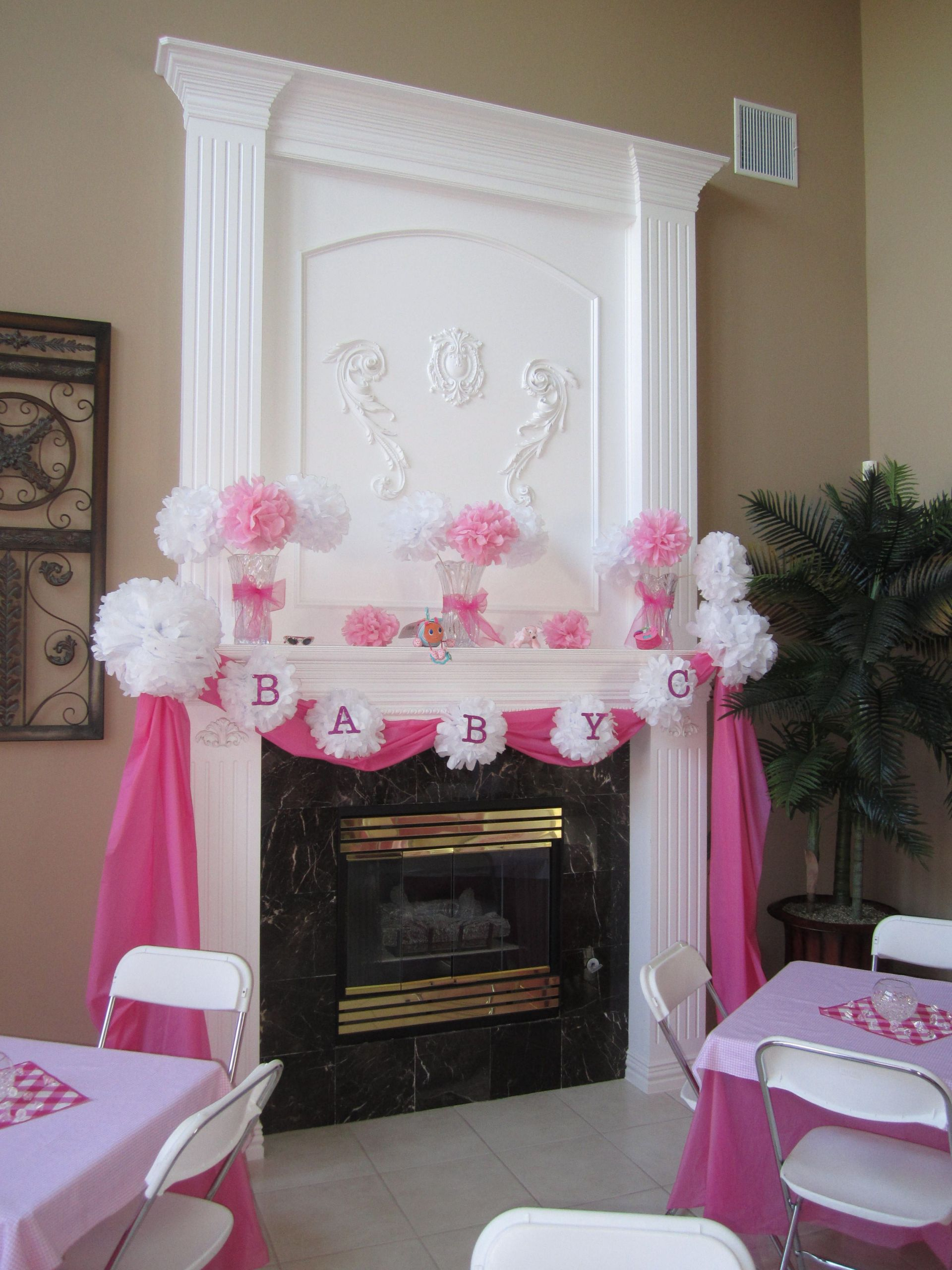 Baby Shower Decoration Ideas For A Girl  DIY Baby Shower Ideas for Girls
