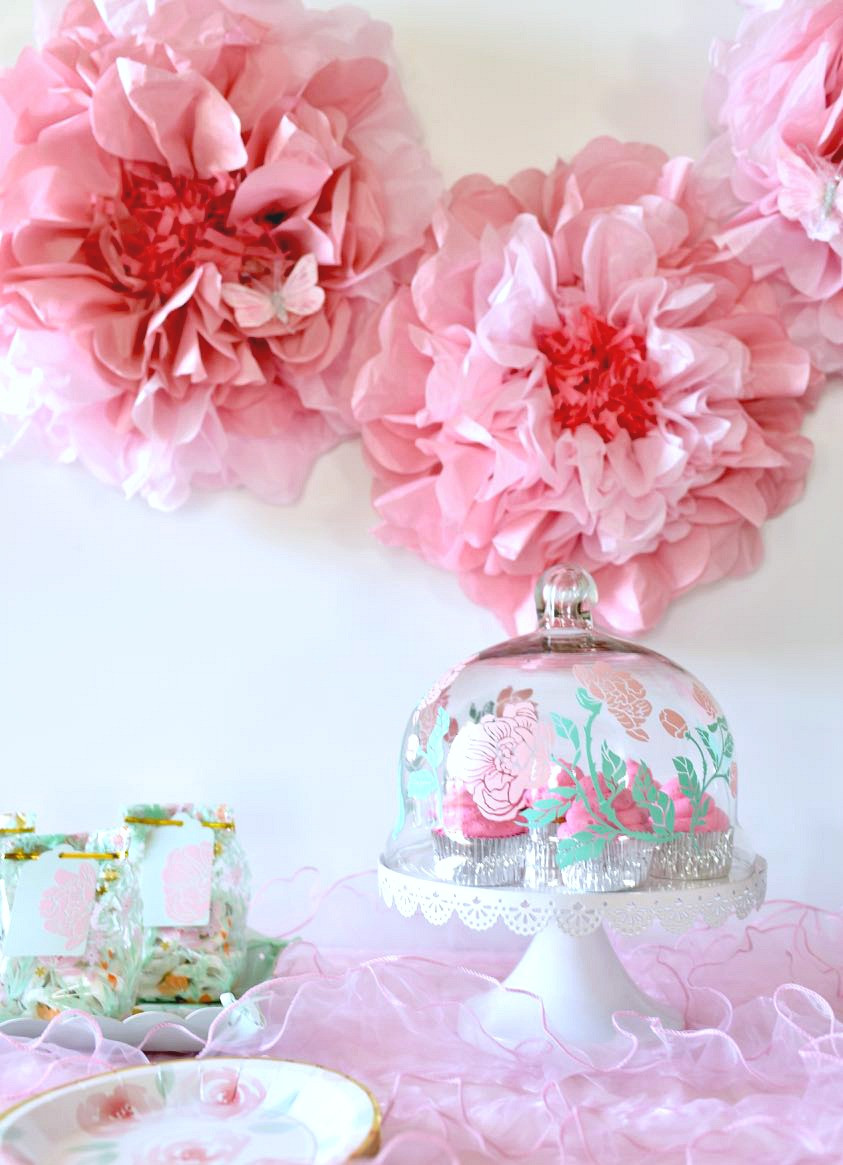 Baby Shower Decoration Ideas For A Girl  Girl Baby Shower Ideas Free Cut Files Make Life Lovely