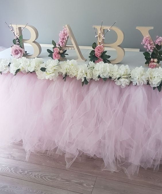 Baby Shower Decoration Ideas For A Girl  Easy Bud Friendly Baby Shower Ideas For Girls Tulamama