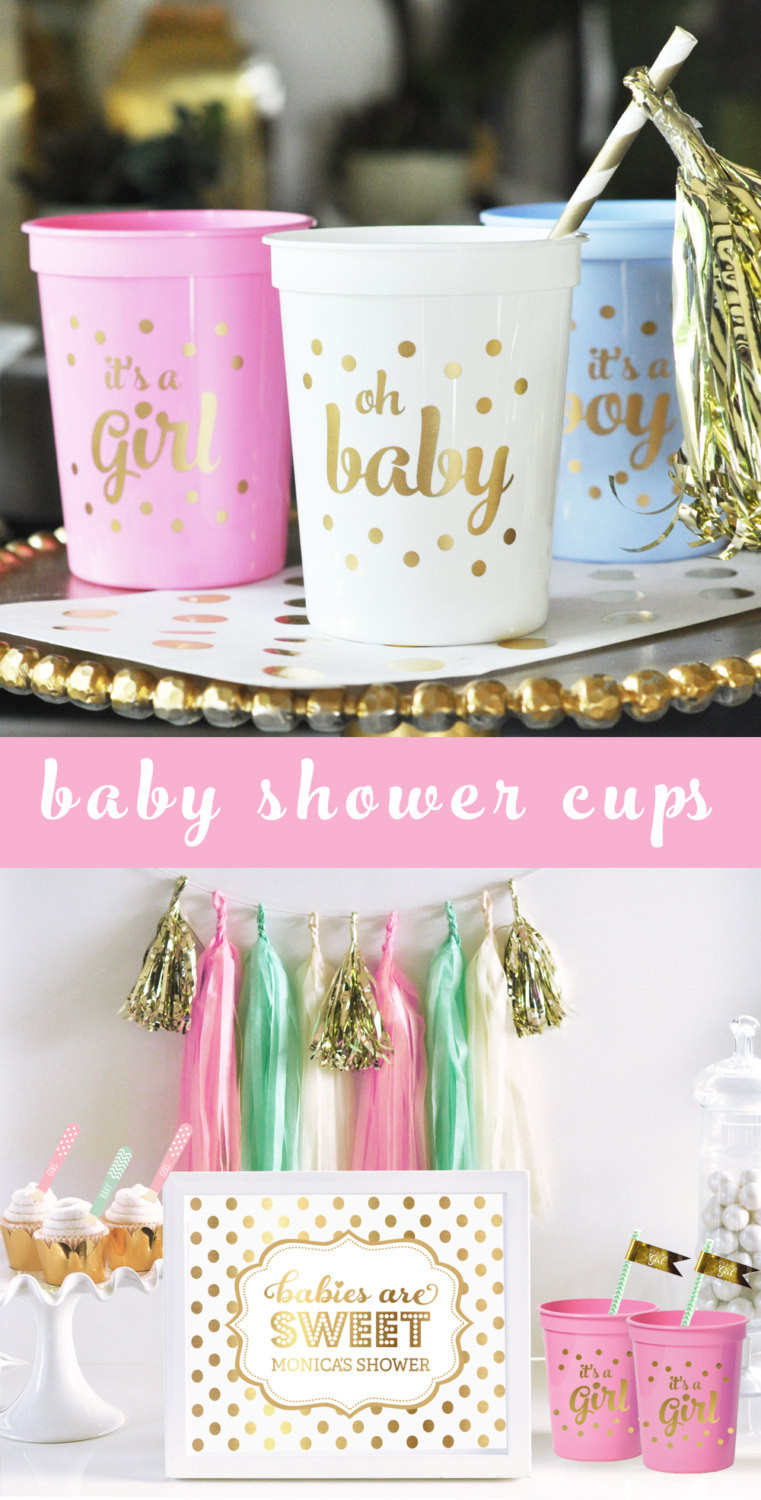 Baby Shower Decoration Ideas For A Girl  Its a Girl Baby Shower Decorations for Girl Pink Baby Shower