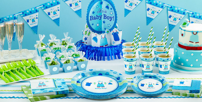 Baby Shower Decorations At Party City  It s a Boy Baby Shower Party Supplies Party City