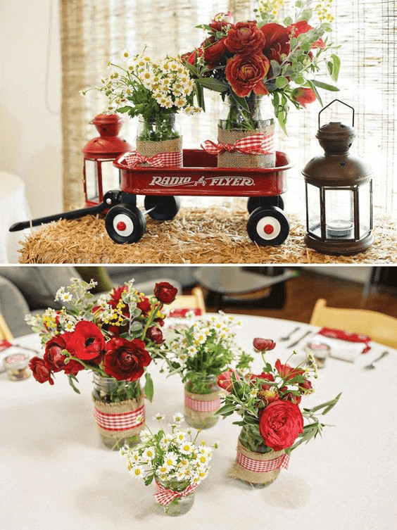 Baby Shower Table Decoration Ideas  23 Easy To Make Baby Shower Centerpieces & Table