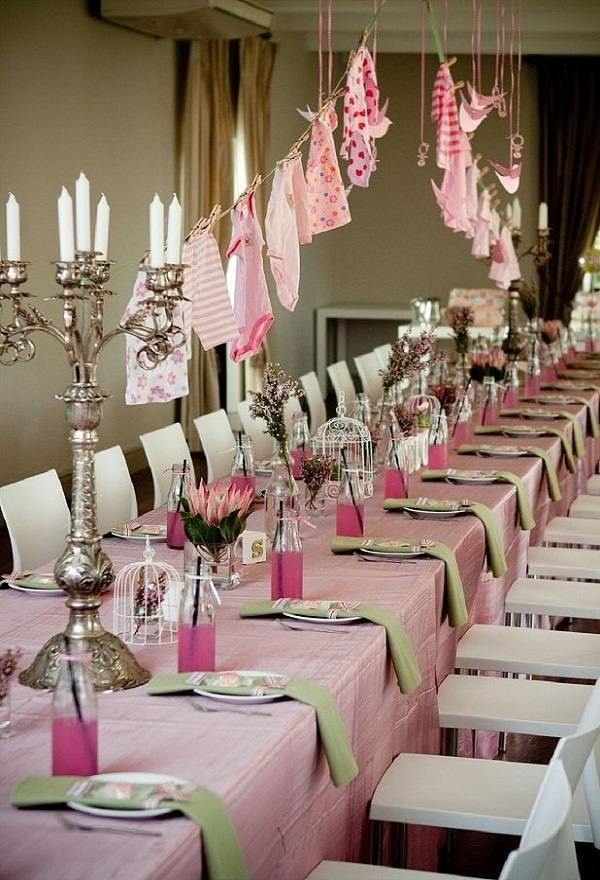 Baby Shower Table Decoration Ideas  Baby shower ideas – theme and decoration tips
