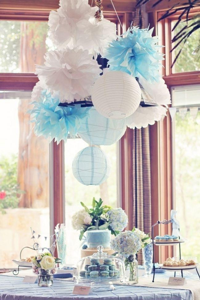 Baby Shower Table Decoration Ideas  Shower Party Decor Items for Tables