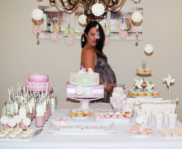 Baby Shower Table Decoration Ideas  Loosh Creations Baby Shower Table Decor Inspiration