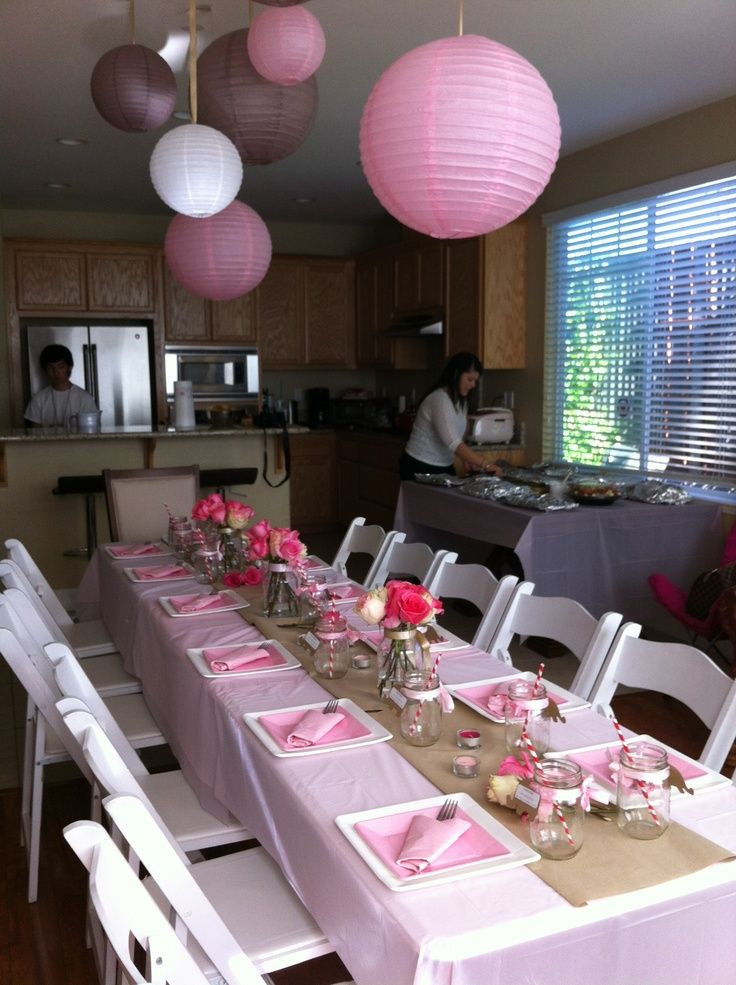 Baby Shower Table Decoration Ideas  42 best images about baby shower decoration ideas on Pinterest