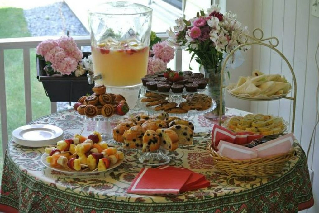 Baby Tea Party  tea party baby shower food pinterest 56aac762af433