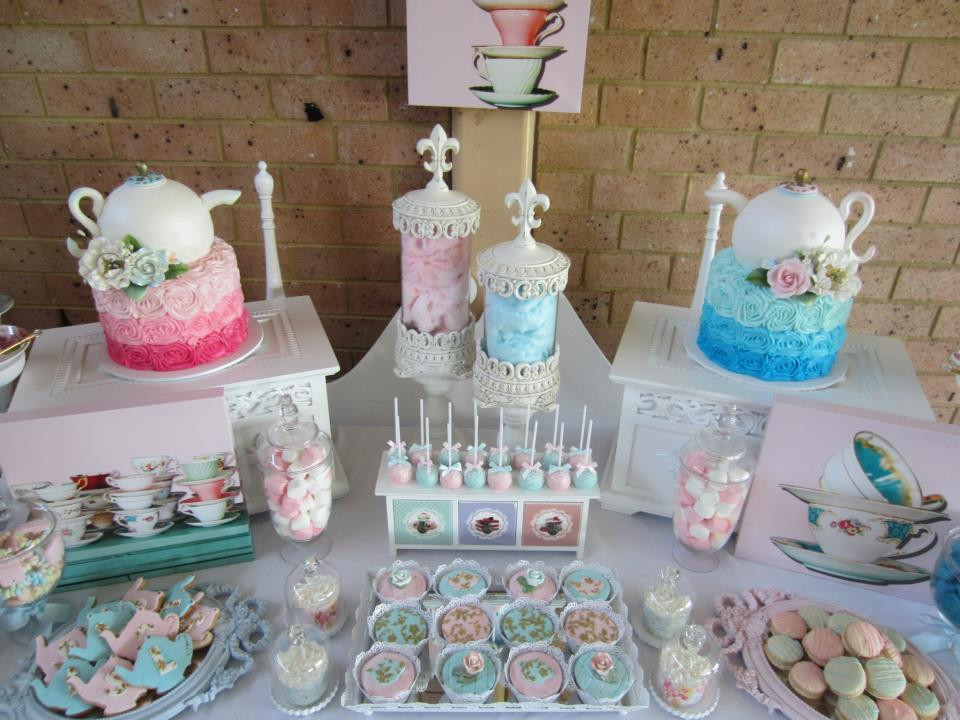 Baby Tea Party  High Tea Party Baby Shower Ideas Themes Games