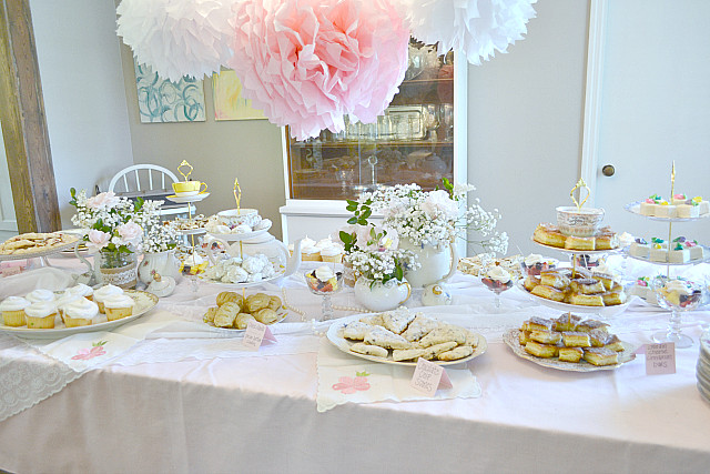 Baby Tea Party  Fawn Over Baby Southern Chic Tea Party Themed Baby Shower