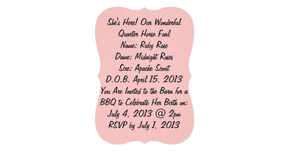 Baby Welcome Party Invitation  Wel e Baby Party Invitations