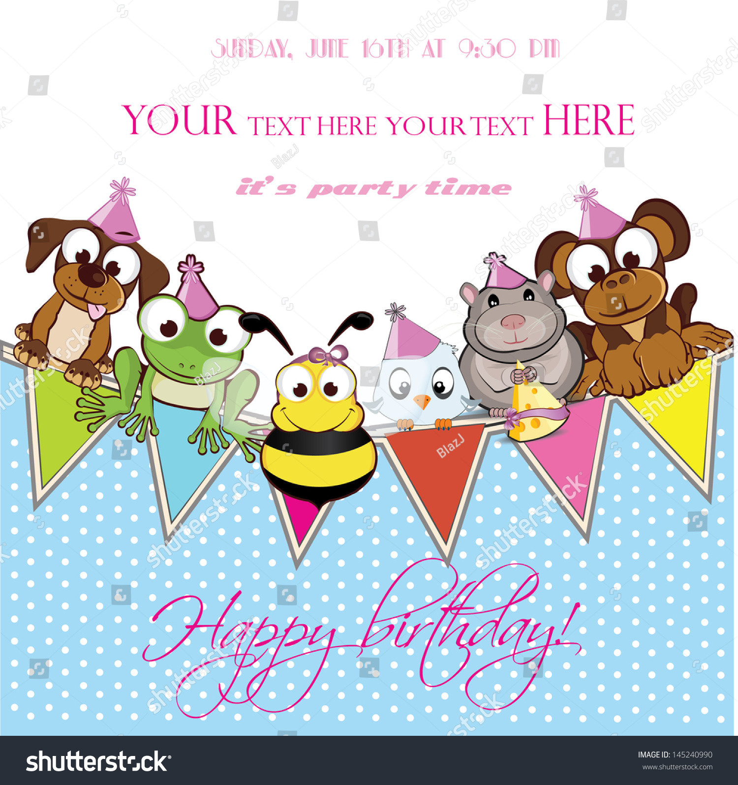 Baby Welcome Party Invitation  Invitation Card For Celebration Birthday Party Wel e