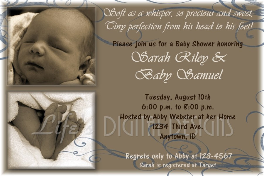 Baby Welcome Party Invitation  Wel e Baby Party Invitation Wording Party Invitation
