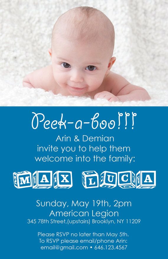 Baby Welcome Party Invitation  Baby Wel e Party Invitation File DIY Printing by