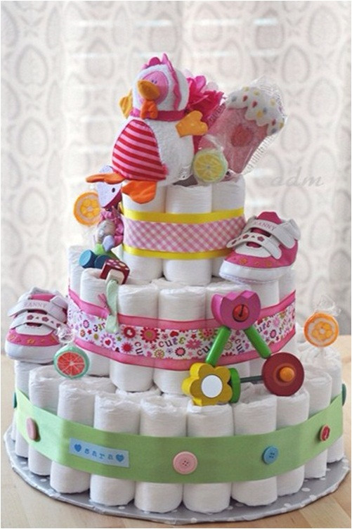 Babyshower Gift Ideas  Funny baby shower t ideas How to make a 3 layer DIY