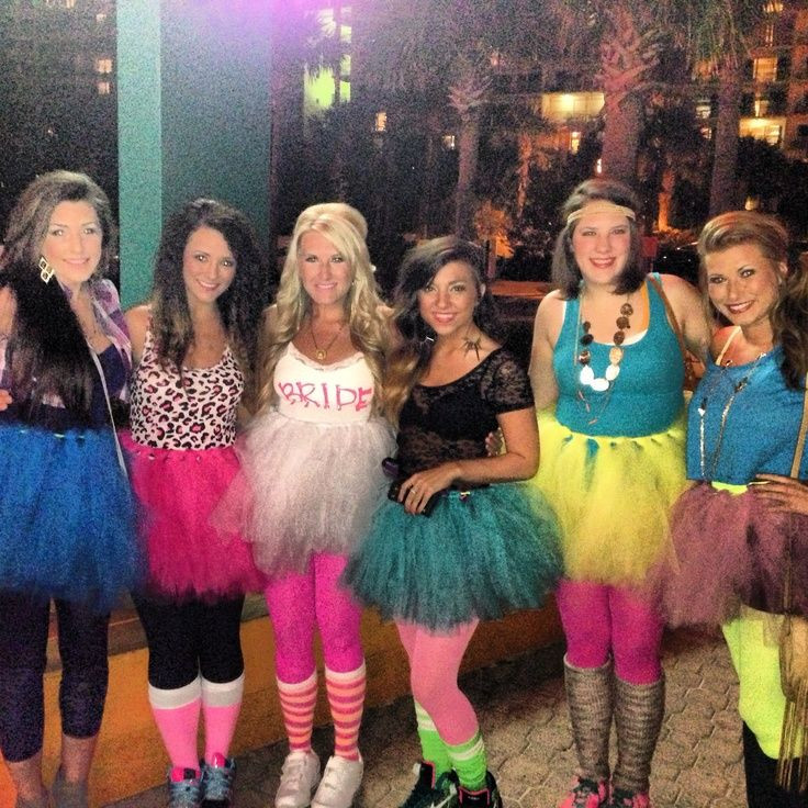Bachelorette Party Dress Up Ideas  bachelorette party 80 s themed outfits Google Search