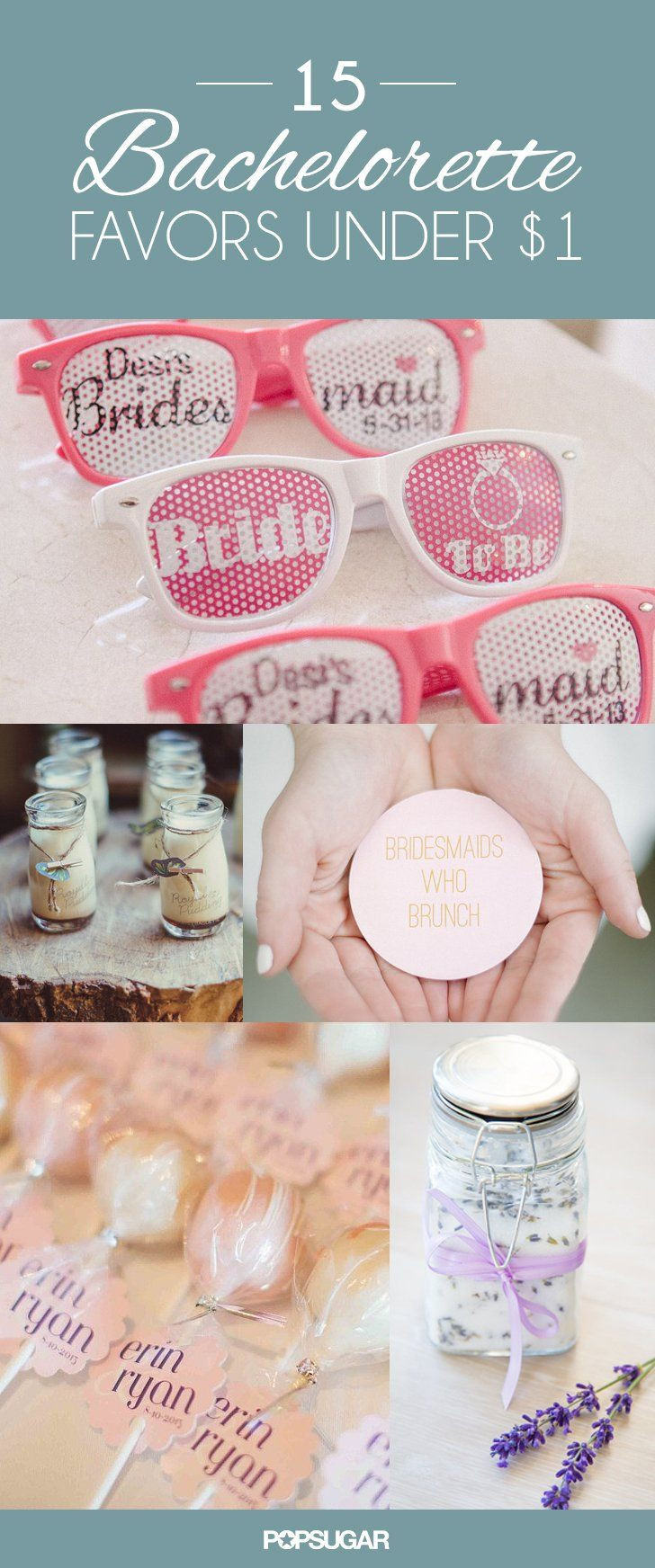 Bachelorette Party Ideas For Under 21 Bride  40 Bachelorette Favors That Take the Party to a Whole New