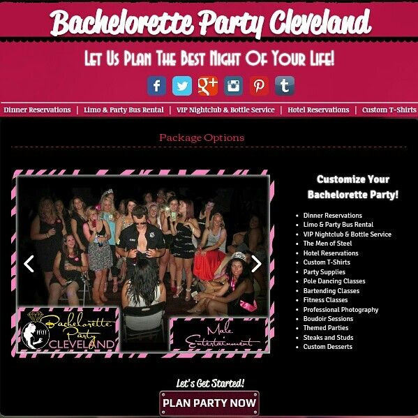 Bachelorette Party Ideas In Ohio  18 best Bachelorette Party Cleveland images on Pinterest