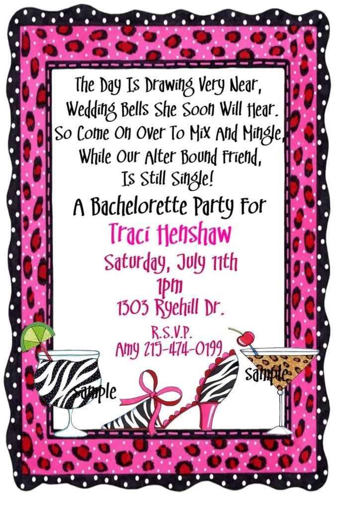 Bachelorette Party Invitation Ideas  25 best images about Party Invitations on Pinterest
