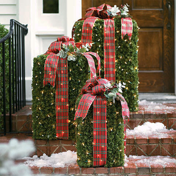 Backyard Christmas Decorations  20 Most Beautiful Outdoor Decoration Ideas for Christmas