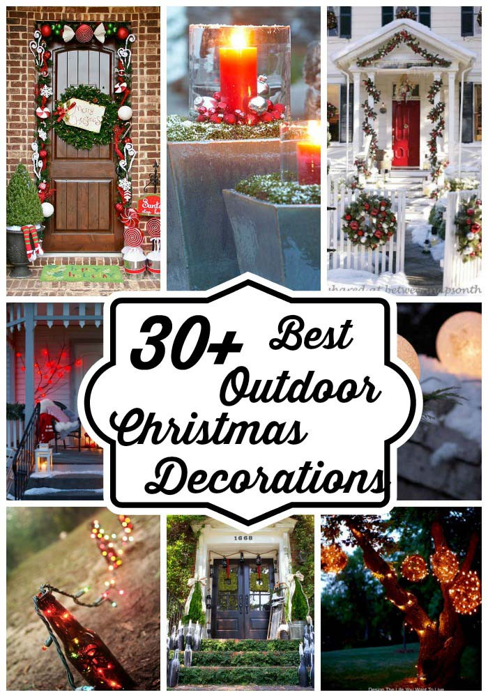 Backyard Christmas Decorations  Best Outdoor Christmas Decorations Ideas – All About Christmas