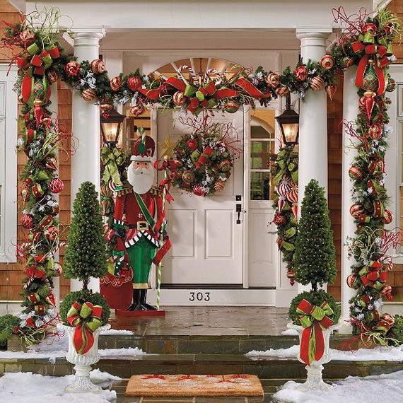 Backyard Christmas Decorations  Best Outdoor Christmas Decorations for Christmas 2014