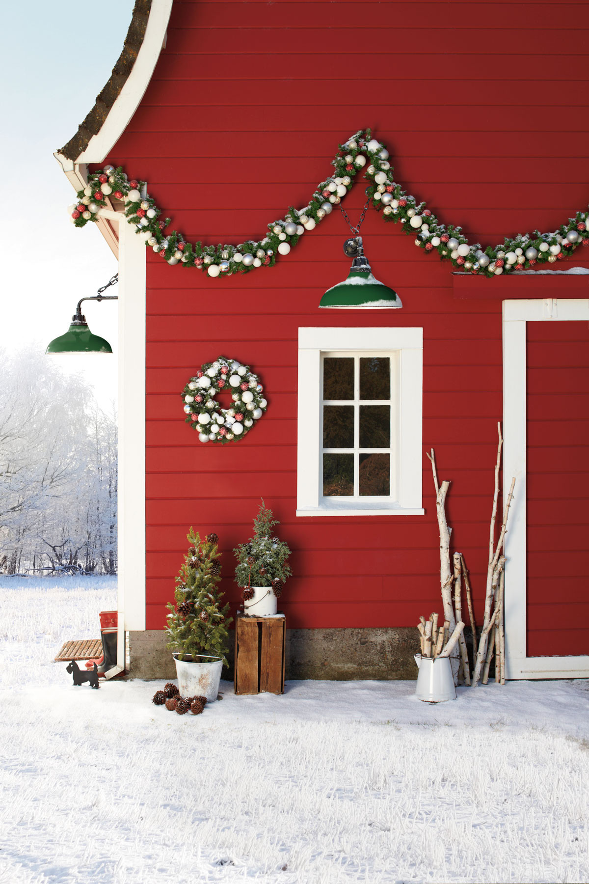 Backyard Christmas Decorations  27 Outdoor Christmas Decorations Ideas for Outside
