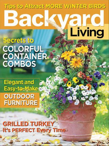 Backyard Living Magazine  Backyard Living Magazine Subscription Discount