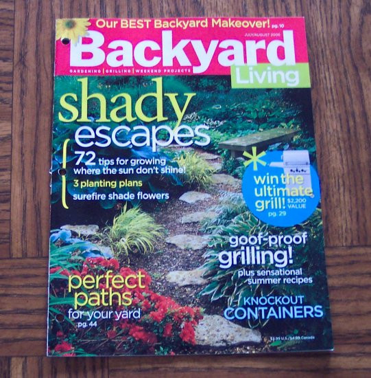 Backyard Living Magazine  Backyard living magazine