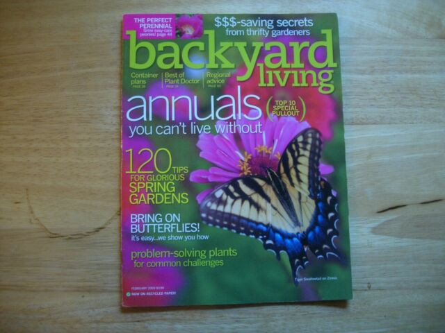 Backyard Living Magazine  Backyard Living Magazine February 2009