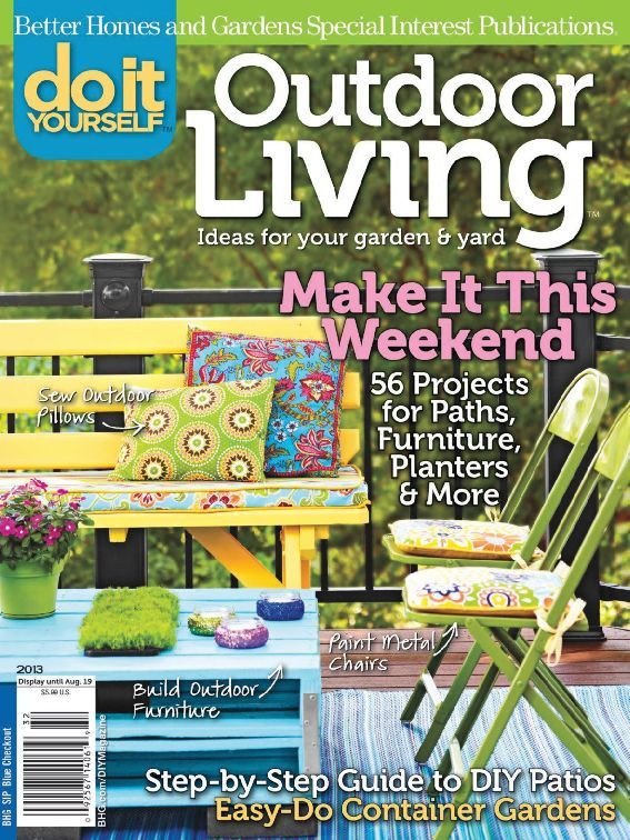 Backyard Living Magazine  Do It Yourself Outdoor Living Magazine Digital