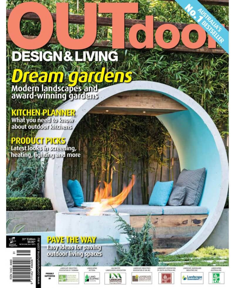 Backyard Living Magazine  Outdoor Design and Living Magazine subscription