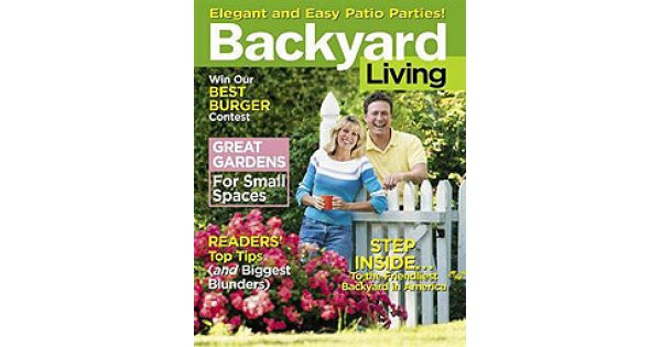 Backyard Living Magazine  Backyard Living Magazine Subscriber Services