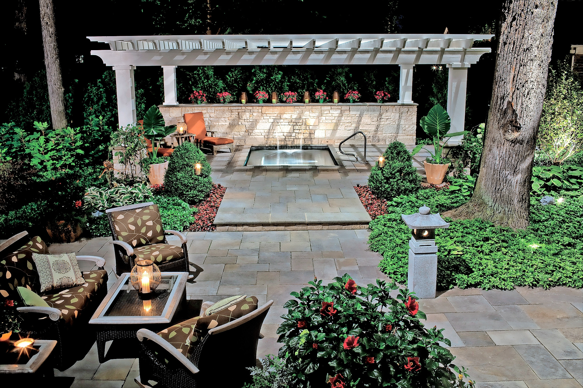 Backyard Living Magazine  Backyard Beauty—Landscaping Your Outdoor Living Space With